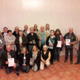 Siegerehrung Rundenwettkampf KK Auflage 2017 des KSV Uelzen