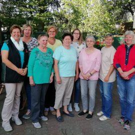 Schützinnen des Kreisschützenverbandes Uelzen beim Finale in Sehnde